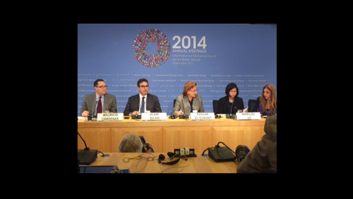 G24 press conference 10 october 2014