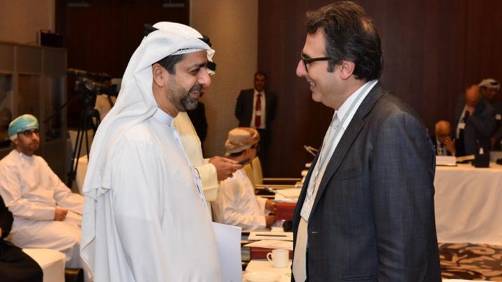 In Abu Dhabi with H.E. Abu Khaled